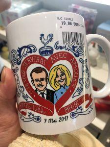 Mug Emmanuel et Brigitte Macron